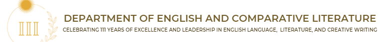 Department of English and Comparative Literature
